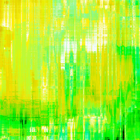Old background with delicate abstract texture. With different color patterns: brown; yellow; green Stock Photo
