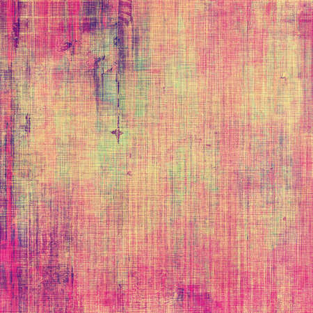 Grunge texture, Vintage background. With different color patterns: purple (violet); yellow; pink
