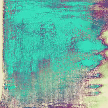 Vintage spotted textured background. With different color patterns: gray; blue; purple (violet) photo