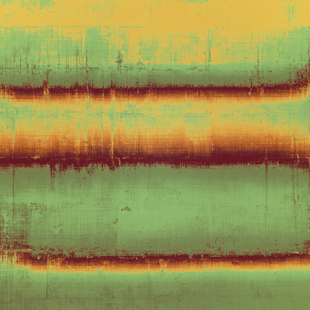 oldschool: Grunge old-school texture, background for design. With different color patterns: yellow; brown; green; beige