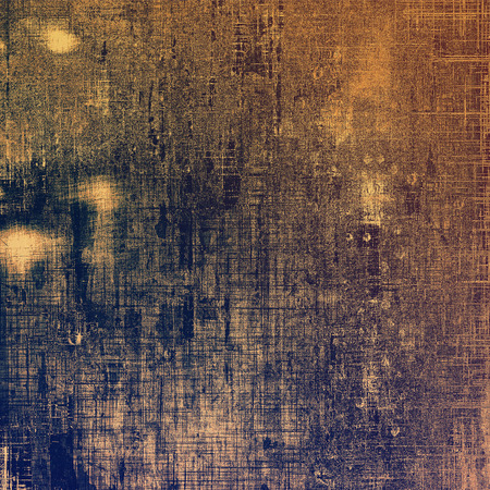 Abstract rough grunge background, colorful texture. With different color patterns: purple (violet); brown; blue; gray; yellow (beige)