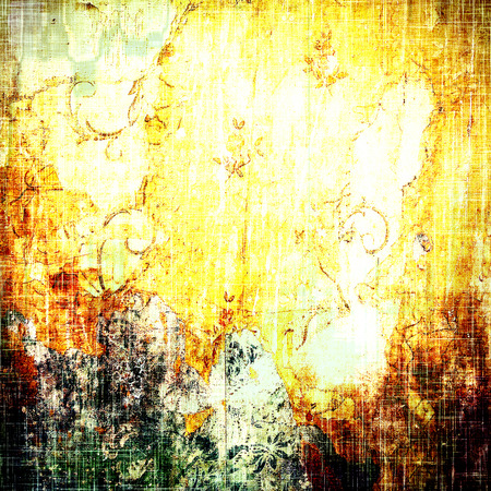 bad condition: Abstract textured background designed in grunge style. With different color patterns: brown; black; gray; yellow (beige)