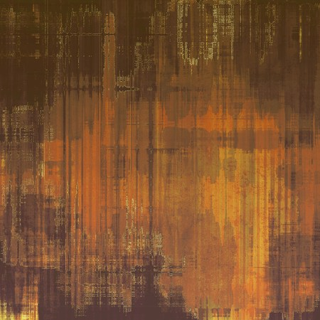 oldschool: Grunge old-school texture, background for design. With different color patterns: brown; gray; yellow (beige)