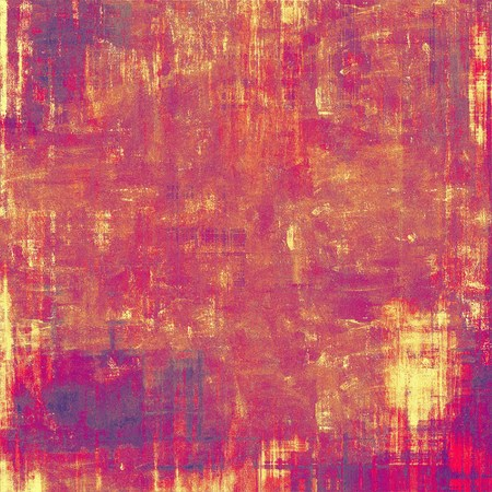 Antique vintage background. With different color patterns: purple (violet); brown; pink; red (orange); yellow (beige) photo