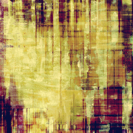 Grunge texture, may be used as background. With different color patterns: yellow (beige); brown; green; purple (violet) Stock Photo