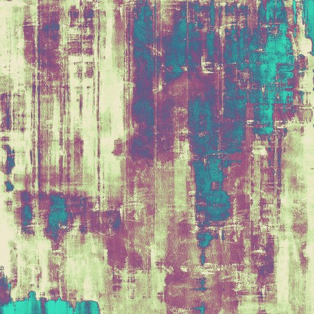 grained: Abstract rough grunge background, colorful texture. With different color patterns: yellow (beige); blue; gray; purple (violet); cyan