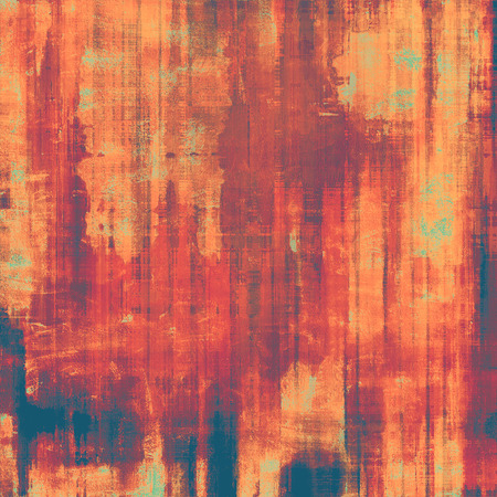 Abstract retro background or old-fashioned texture. With different color patterns: red (orange); yellow (beige); brown; purple (violet) photo