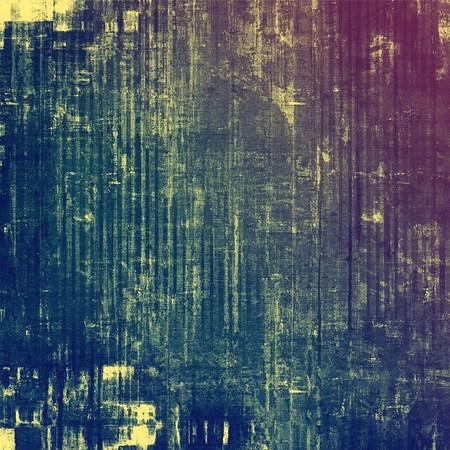 threadbare: Vintage aged texture, colorful grunge background with space for text or image. With different color patterns: yellow (beige); blue; purple (violet); cyan