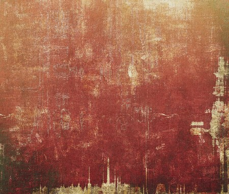 grime: Grunge texture, distressed background. With different color patterns: yellow (beige); brown; gray; pink