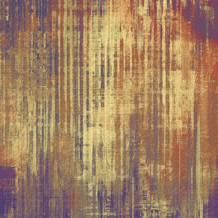 Grunge background with space for text or image. With different color patterns: yellow (beige); brown; gray; purple (violet); red (orange) photo