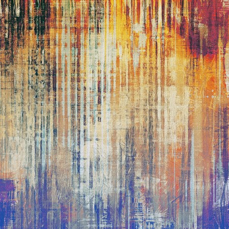 oldfield: Abstract grunge background or old texture. With different color patterns: yellow (beige); brown; purple (violet); blue; red (orange) Stock Photo
