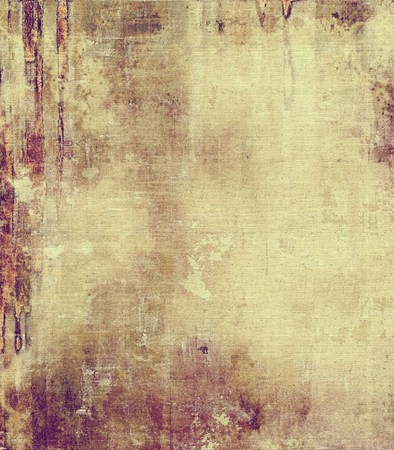 oldfield: Grunge texture, distressed background. With different color patterns: yellow (beige); brown; gray; purple (violet)