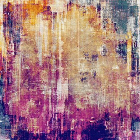 crosshatching: Vintage antique textured background. With different color patterns: yellow (beige); red (orange); purple (violet); pink