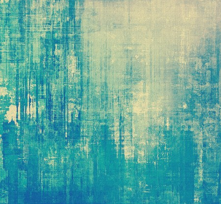 Old grunge textured background. With different color patterns: yellow (beige); blue; gray; cyan