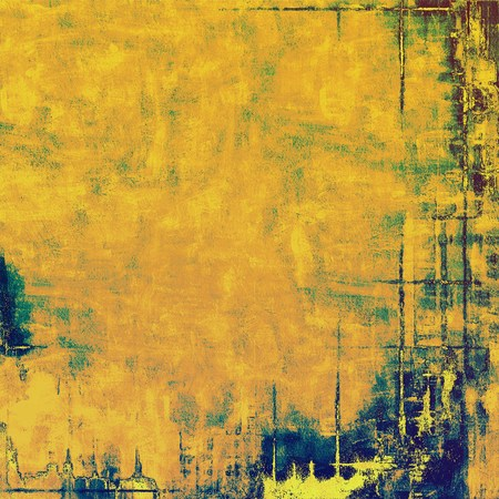 crosshatching: Vintage texture. With different color patterns: yellow (beige); brown; green; blue Stock Photo
