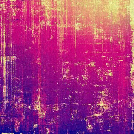 Grunge background with space for text or image. With different color patterns: yellow (beige); purple (violet); pink