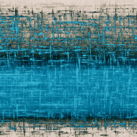 grooves: Vintage texture for background. With different color patterns: gray; blue; cyan; black Stock Photo