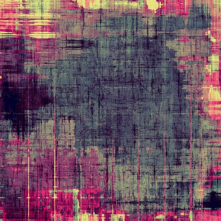 oldschool: Grunge old-school texture, background for design. With different color patterns: yellow (beige); purple (violet); blue; pink Stock Photo