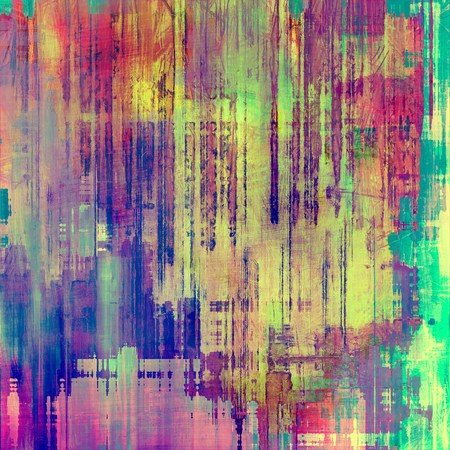 purple: Grunge retro vintage textured background. With different color patterns: yellow (beige); purple (violet); red (orange); pink; green Stock Photo