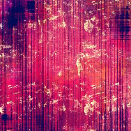 violet red: Antique vintage texture, old-fashioned weathered background. With different color patterns: purple (violet); red (orange); pink; blue