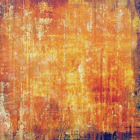 Beautiful vintage background. With different color patterns: yellow (beige); brown; red (orange) photo