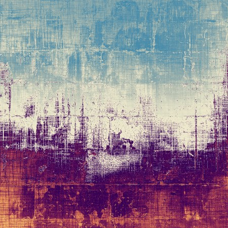 corrosion: Beautiful vintage background. With different color patterns: brown; gray; purple (violet); blue Stock Photo