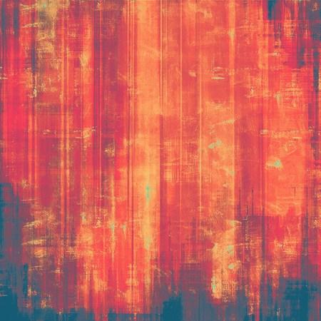 violet red: Old grunge textured background. With different color patterns: brown; purple (violet); red (orange); pink