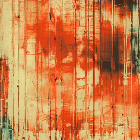 Retro background with grunge texture. With different color patterns: yellow (beige); brown; gray; red (orange) photo