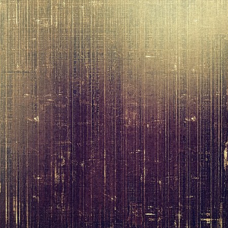 Grunge aging texture, art background. With different color patterns: yellow (beige); brown; gray; purple (violet) photo