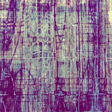 Old abstract texture with grunge stains. With different color patterns: gray; blue; purple (violet); cyan photo