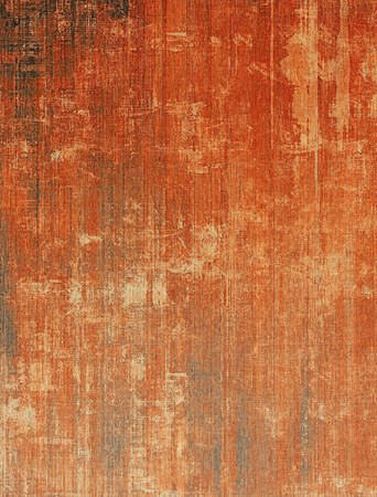 worn structure red: Old texture as abstract grunge background. With different color patterns: yellow (beige); brown; gray; red (orange) Stock Photo