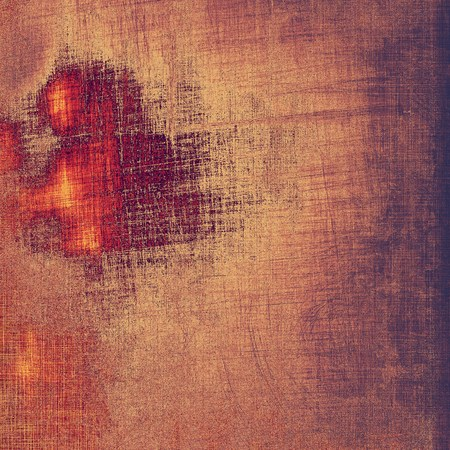 Beautiful vintage background. With different color patterns: brown; gray; red (orange); purple (violet) photo