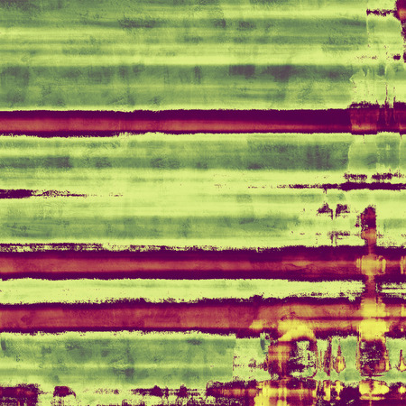 contrasts: Abstract distressed grunge background. With different color patterns: yellow (beige); green; purple (violet)