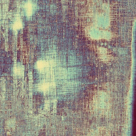 oldschool: Grunge old-school texture, background for design. With different color patterns: gray; purple (violet); blue