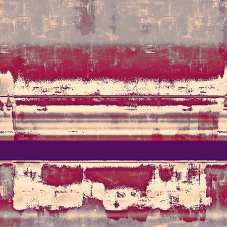 Antique grunge background with space for text or image. With different color patterns: yellow (beige); gray; purple (violet); pink