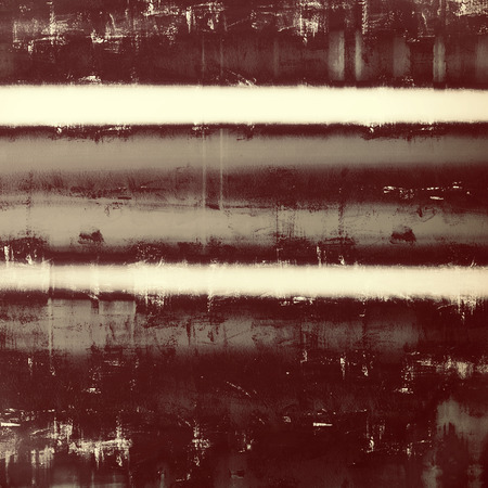 Old grunge background with delicate abstract texture and different color patterns: brown; gray