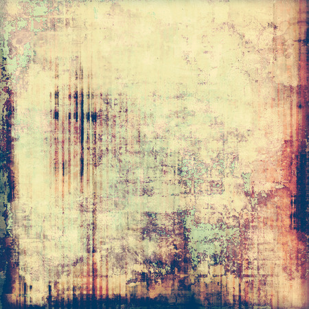 Antique Vintage Texture Or Background. With Different Color Patterns ...