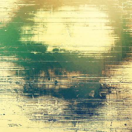 contrasts: Old abstract grunge background for creative designed textures. With different color patterns: yellow (beige); brown; green