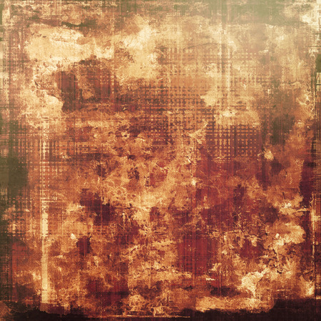 crosshatching: Grunge old texture as abstract background. With different color patterns: brown; gray; yellow (beige)