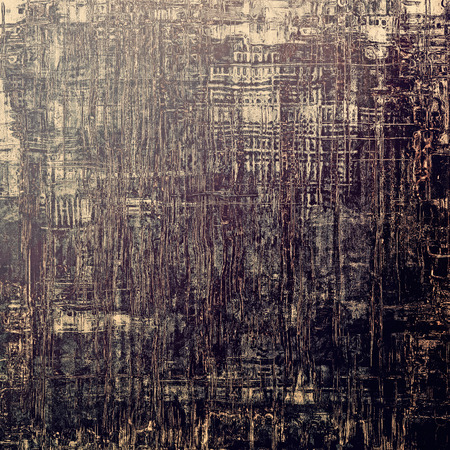 threadbare: Old abstract grunge background for creative designed textures. With different color patterns: brown; gray; purple (violet); black