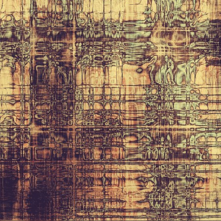 Abstract distressed grunge background. With different color patterns: purple (violet); yellow (beige); brown; gray photo