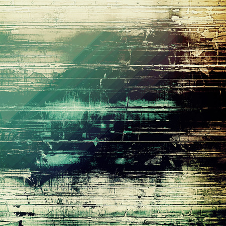 oldfield: Art grunge vintage textured background. With different color patterns: gray; black; green; cyan