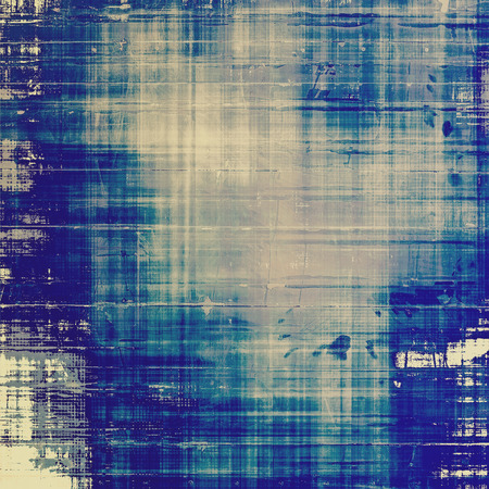 Grunge texture, distressed background. With different color patterns: gray; cyan; blue photo