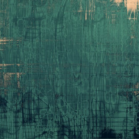 Vintage texture for background. With different color patterns: brown; green; cyan; blue Stock Photo