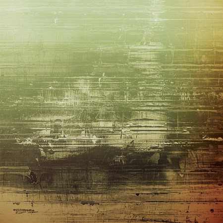 green and black: Retro texture. With different color patterns: brown; gray; green; black Stock Photo
