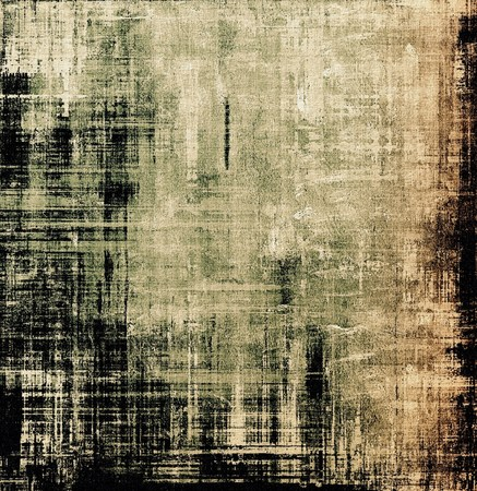 burnt edges: Old grunge template. With different color patterns: yellow (beige); brown; green; black Stock Photo