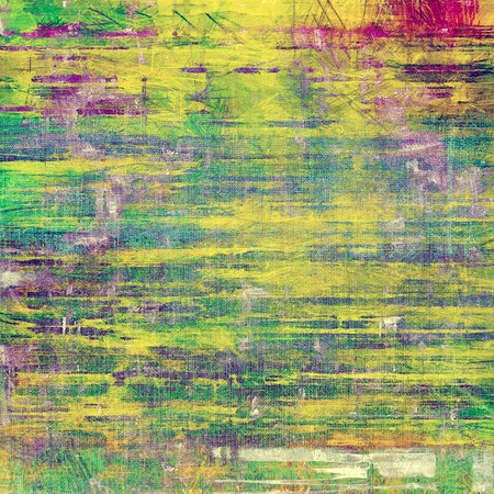 green purple: Old texture with delicate abstract pattern as grunge background. With different color patterns: yellow (beige); green; purple (violet); blue Stock Photo