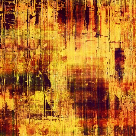 Old-style background, aging texture. With different color patterns: yellow (beige); brown; black; red (orange) photo