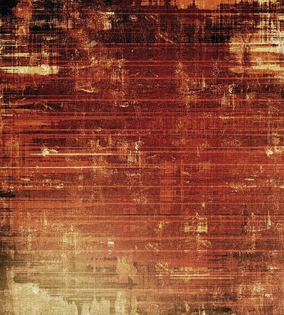 burnt edges: Vintage texture. With different color patterns: yellow (beige); brown; gray; red (orange) Stock Photo