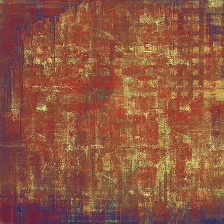 violet red: Old grunge textured background. With different color patterns: yellow (beige); brown; purple (violet); red (orange)